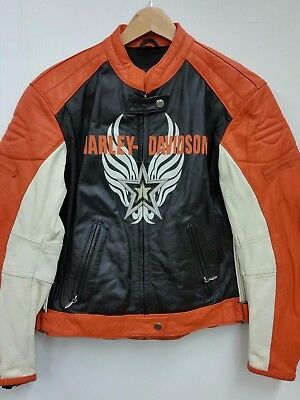 HARLEY DAVIDSON Leather Jacket (Womens Medium)