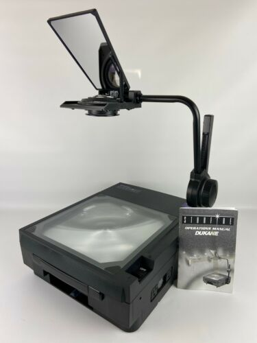 Dukane Starfire SF4030 Portable Overhead Transparency Projector With Manual