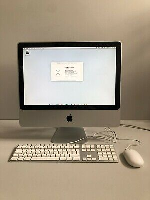 "Apple iMac A1224, 2009, 20"", 2.66 GHz, 5Gb Memory, El Capitan Keyboard and Mouse"