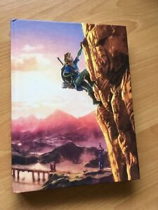 Zelda Breath of the Wild - official guide book