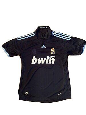 REAL MADRID 2009/2010 AWAY FOOTBALL SOCCER SHIRT JERSEY CAMISETA #9 RONALDO CR9 image