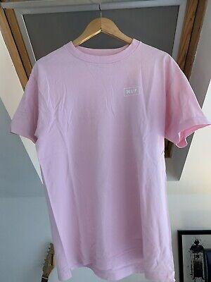 Pink HUF T Shirt Medium