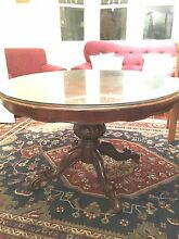 Carved rosewood regency style 8 seater dining table Maribyrnong Maribyrnong Area Preview