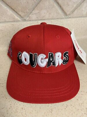 University of Houston Cougars Youth Kids Snapback Hat Red One Size Fits All](Houston Cougars Hat)