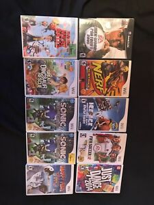 Various Wii, GameCube games $5 ea