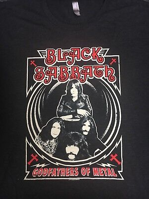 BLACK SABBATH Godfathers of Metal The End Tour 2016