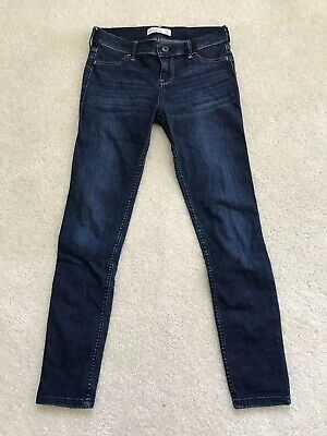 Abercrombie Kids Girl Youth Denim Long Jeans pants Size 14  $10