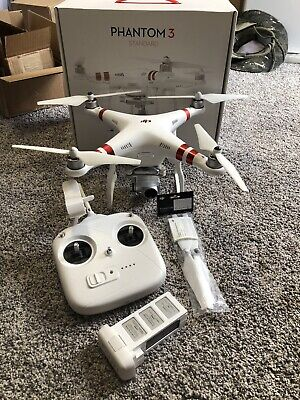DJI Phantom 3 Standard Quadcopter *Pre Owned*Great Condition*FAST SHIP*
