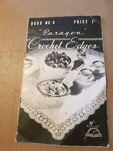 Paragon #4 Crochet Edge Book