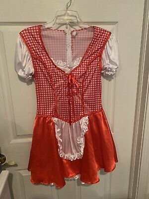 Tween Little Red Riding Hood Halloween Costume (Little Red Riding Hood Costume Teen Tween Size Large)