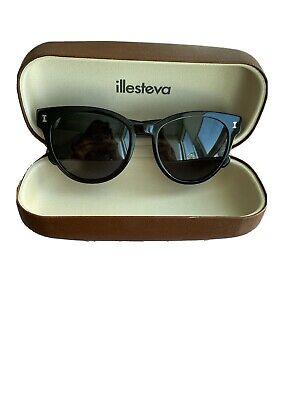 Illesteva 55mm YORK Cat Eye black sunglasses