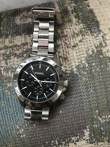 Fossil Watch with Chrono