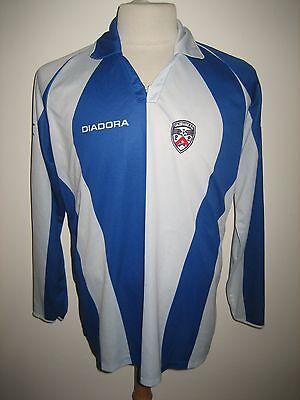 Coleraine MATCH WORN home Ireland football shirt soccer jersey trikot size XL image