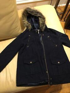 Girls' Fall Jacket with hood. Like new!  Size14