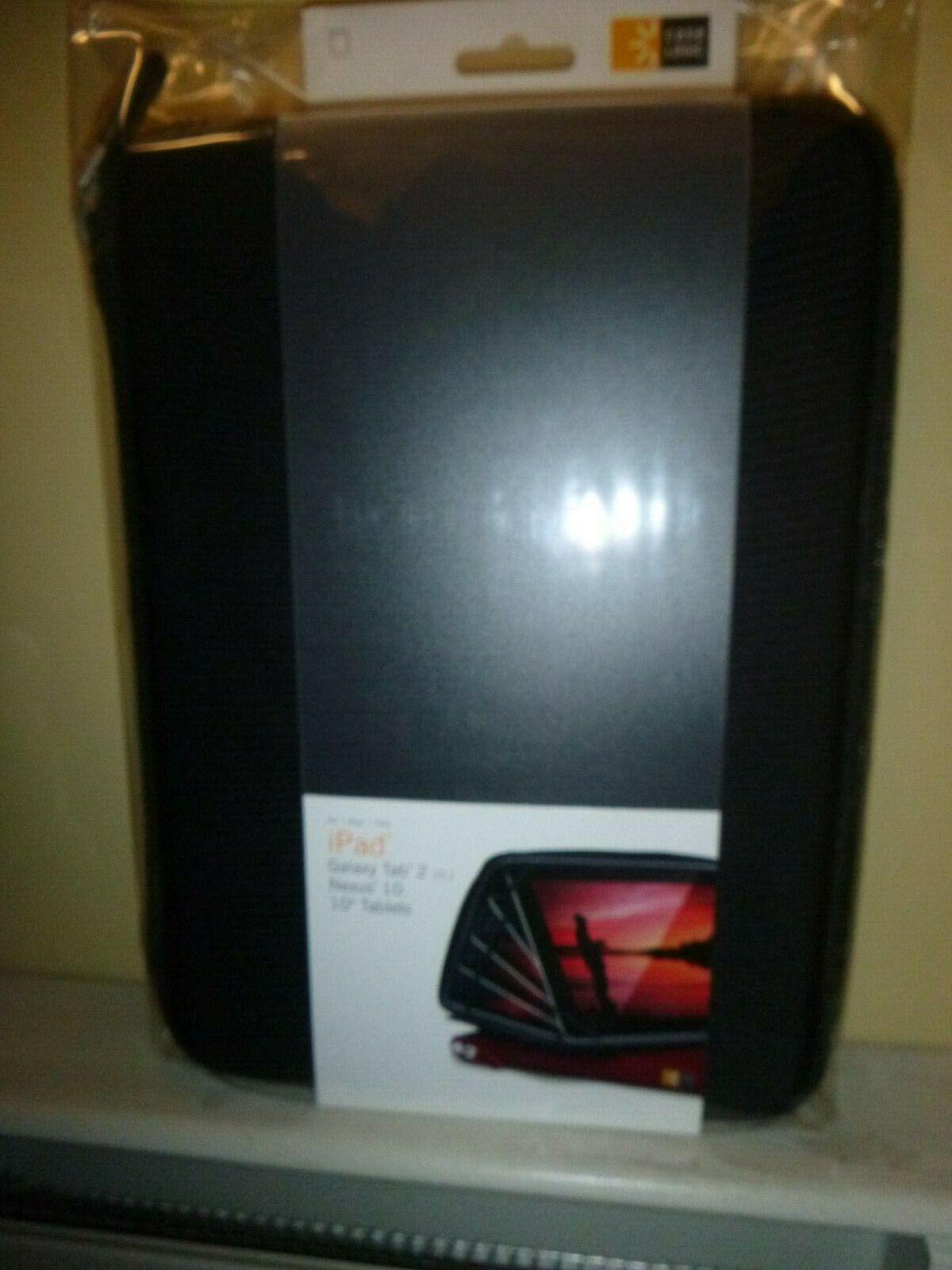 "Case Logic IPad Galaxy Tab 2, Nexus 10"" Tablets, ETC210 Bl"