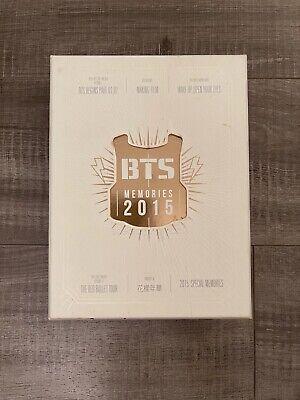 BTS OFFICIAL BTS MEMORIES OF 2015 DVD FULL SET PRE-OWNED