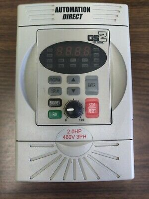 Automation Direct Gs2-42p0 2hp 3ph Frequency Drive