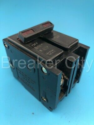 Bryant Br290 90 Amp 2 Pole Type Br Plug-in Common Trip Circuit Breaker 240v
