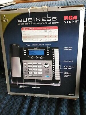 2 Rca Visys Business Expandable Digital Answering Phone Systems 4 Lines - Each