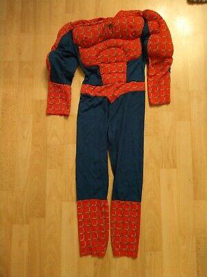 Spiderman Kostüm für KINDER Gr.128 Top Zustand! Original! Ohne Maske.