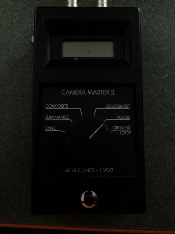 FM Systems CM-2 Camera Master 2 CCTV Video Signal Tester