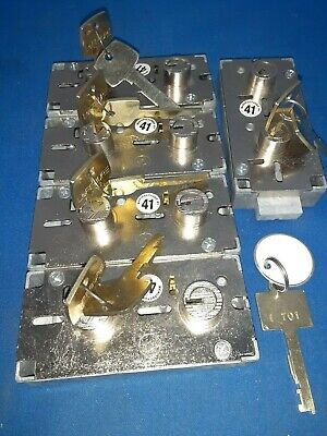 5 Ilco 5442 Nickel Nos Safe Deposit Lock