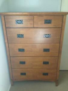 Tallboy and bedside cupboards Tewantin Noosa Area Preview