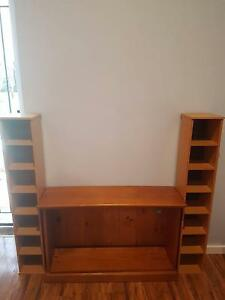 Tv unit with 2 racks Barden Ridge Sutherland Area Preview