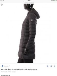 Poplar north side winter jacket downfilled  $200 , paid 427.00