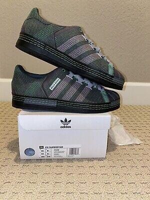 Adidas x Craig Green CG Superstar Shoes Sneakers (FY5709) - Utility Black Sz 10