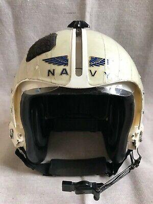 U.S.N. Navy Pilot's Flight Helmet HGU MBU Gentex no reserve.
