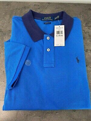 NEW Ralph Lauren Big BOYS Polo Shirt Youth XL (18-20) Blue/Navy Pony