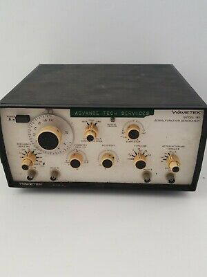 Wavetek Model 143 20 Mhz Function Generator Tested Works