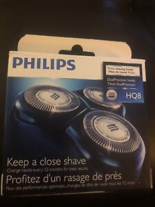 Shaver replacement heads