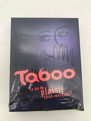 Used, Hasbro Taboo Board Game: French Version (CCD04)  for sale  Winchester