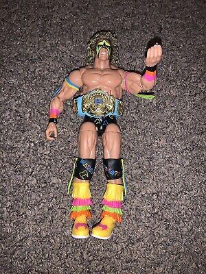 WWE Mattel Elite Hall of Fame Ultimate Warrior Action Figure WWF HOF Target