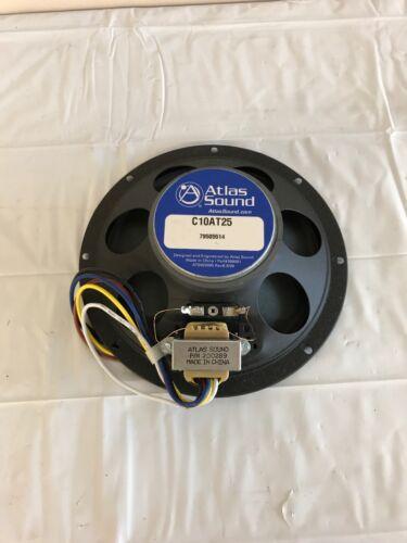 "Atlas Sound C10AT25 8"" In-Ceiling Speaker"