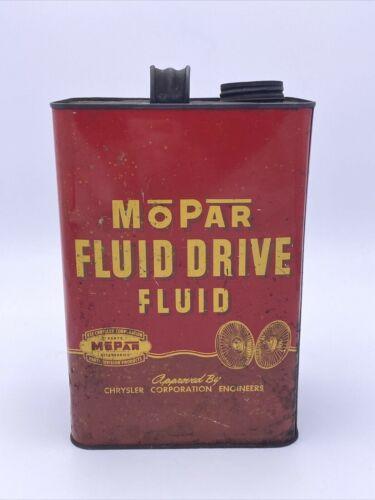 Vintage Mopar Fluid Drive Fluid Can Chrysler Plymouth Dodge