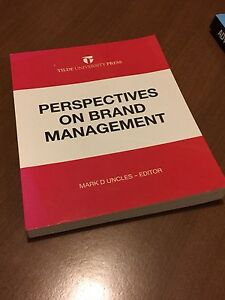 Perspectives on brand management ISBN-13: 978-0******1065-2 Ashfield Ashfield Area Preview