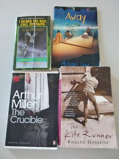 English literature ATAR books