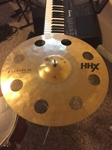 "Drum Stuff - Sabian HHX Ozone 18""  Crash Cymbal"