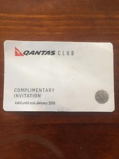 Qantas club single entry pass