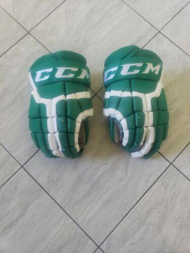 """Farjestad BK CCM HG41 pro stock hockey gloves, 14"""""""