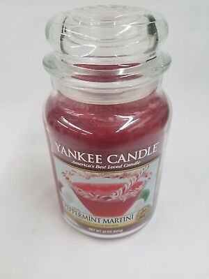 YANKEE CANDLE PEPPERMINT MARTINI 22 OZ 1 WICK CANDLE](Peppermint Martini)