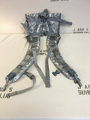 Molle II Rucksack Enhanced Shoulder Straps ACU Quick Release and Load Lifter