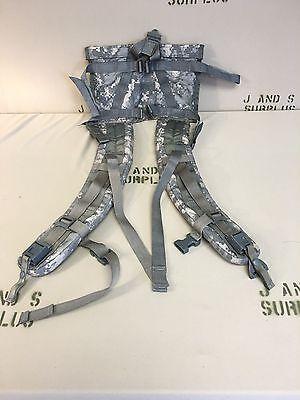 Molle II Rucksack Enhanced Shoulder Straps ACU Military Surplus Quick Release