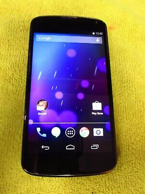 LG Nexus 4 16GB Black LG E960 (Unlocked) GSM World Phone GD373