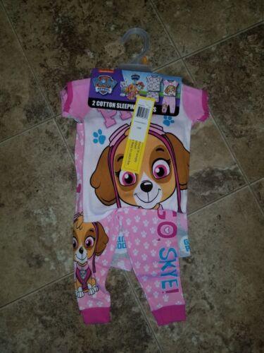 Nwt Girls Paw Patrol 2 Sleepwear Sets PJ
