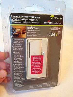 Cooper Wiring Smart Dimmer - NEW Cooper Wiring Smart Accessory Dimmer w/preset Multi-Location