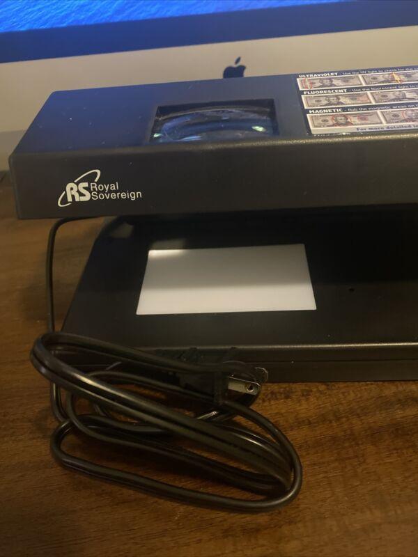 Counterfeit Money Detector,  RCD-2000, Royal Sovereign